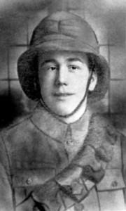 Sam Houghton in uniform