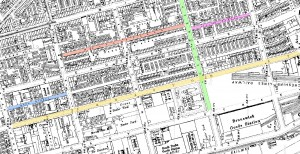 Toxteth street map
