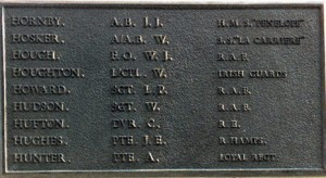 Memorial Plaque in Victoria Park, Widnes