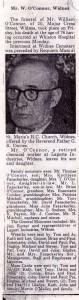 William Connors Obituary