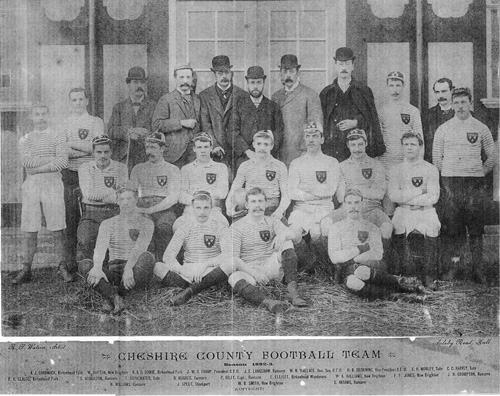 Cheshire rugby football team 1892